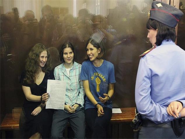 imagen Las Pussy Riot condenadas a dos años de prisión en Rusia