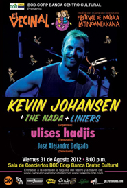 Kevin Johansen y The Nada visitan Caracas