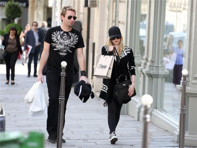 imagen Avril Lavigne y el cantante de Nickelback anuncian compromiso