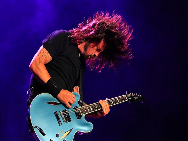 imagen Concierto de Foo Fighters provoca quejas en Belfast