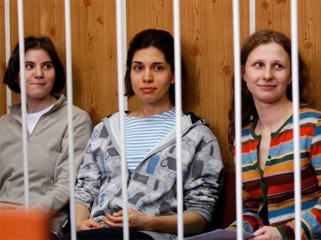 imagen Justicia rusa dictará sentencia contra grupo punk Pussy Riot el 17 de agosto