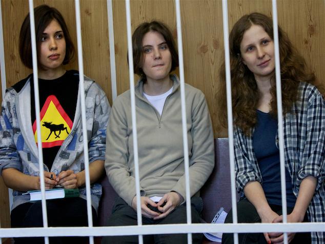 imagen Amnistía Internacional y algunos músicos se unen para liberar a Pussy Riot