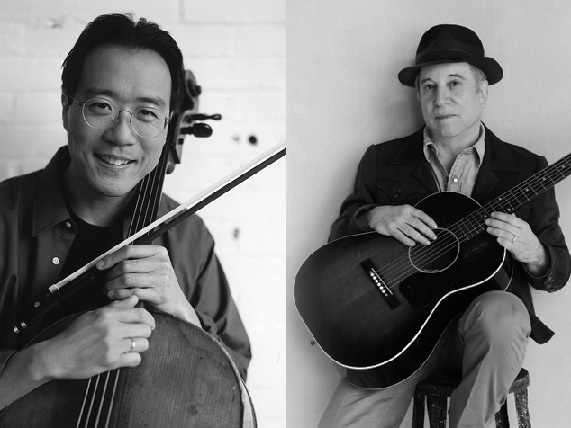 """imagen Paul Simon y Yo-Yo Ma reciben el premio Polar, el """"Nobel"""" de la música"""