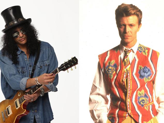 imagen ¿David Bowie tuvo algo con la mamá de Slash? ¡Así parece!