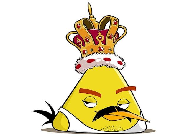 imagen Freddie Mercury se convierte en un Angry Bird