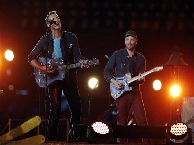 imagen Coldplay cierra la ceremonia de los Juegos Paralímpicos