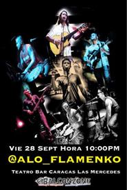 Aniversario Alo Flamenco en El Teatro Bar