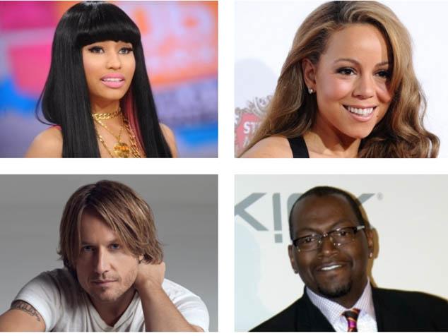 imagen Nicki Minaj, Keith Urban y Mariah Carey son los nuevos jueces de American Idol