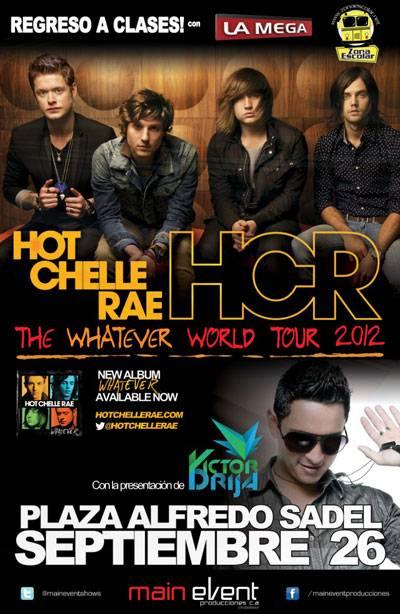 Hot Chelle Rae en Caracas