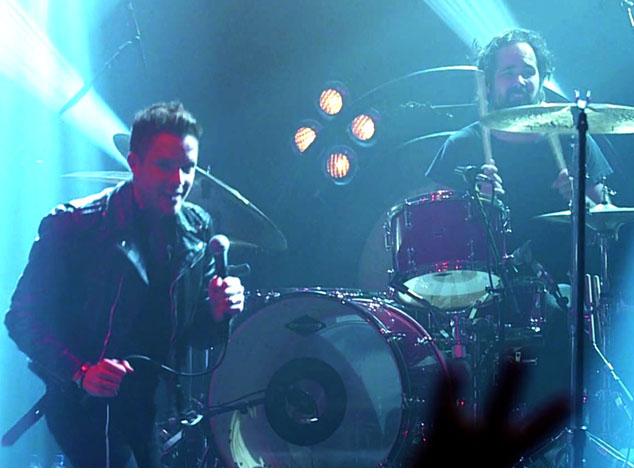 "imagen The Killers en el ""American Express Unstaged"""