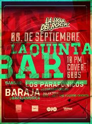 La Liga del Rock presenta a Los Parafónicos y Baraja