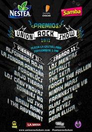 Premios Union Rock Show (Sábado)