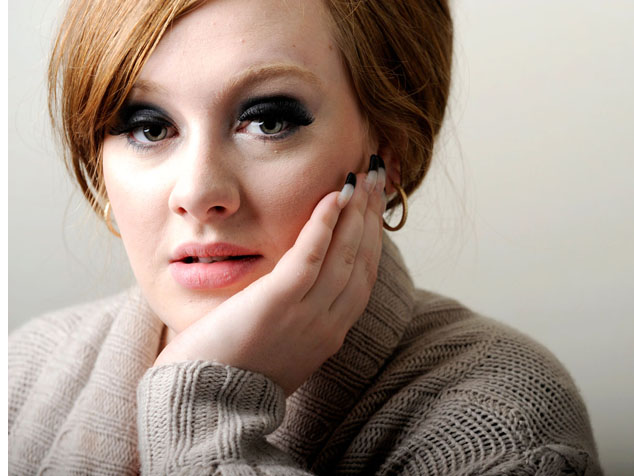 imagen El nuevo álbum de Adele podría estar inspirado en su embarazo