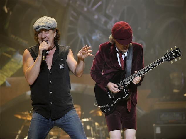 imagen AC/DC lanzará su primer álbum en vivo después de 20 años