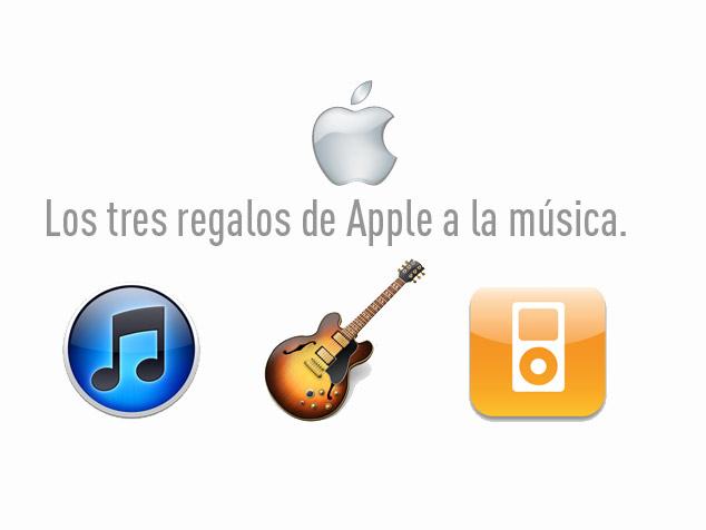 imagen El regalo de Apple a la industria musical