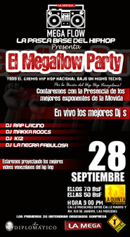 El Megaflow Party en La Quinta Bar