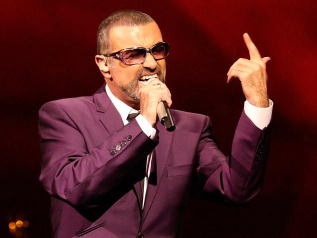 imagen George Michael actúa en la Opera Garnier en favor de la lucha contra el sida