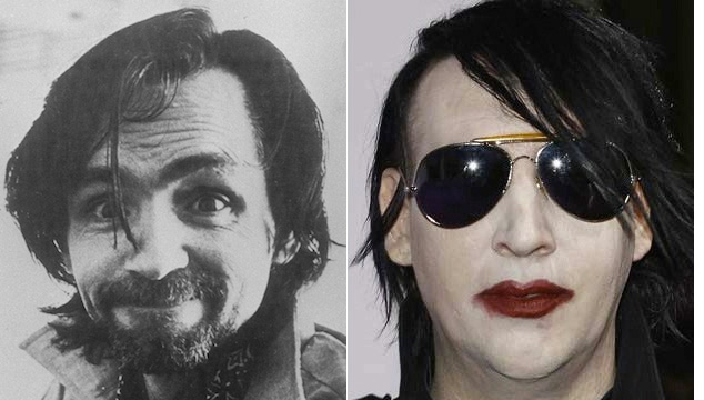 imagen Charles Manson le escribe una carta a Marilyn Manson