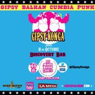 Gipsy Konga en Discovery Bar
