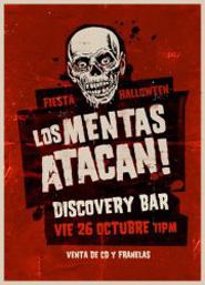 Los Mentas y su Fiesta Halloween en Discovery Bar