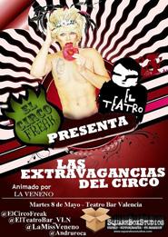 El Circo Freak en Valencia