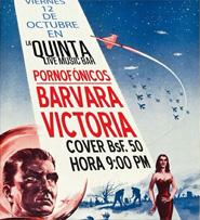Pornofónicos y Barvara Victoria en La Quinta Bar