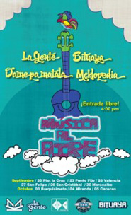 Cierre de Festival 'Música al Aire' en Caracas con Los Mesoneros