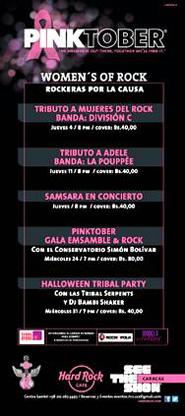 Pinktober, Gala Ensamble & Rock