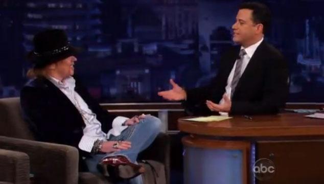 imagen Axl Rose da su primera entrevista en vivo por televisión después de 20 años
