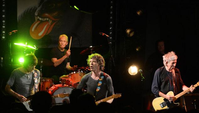 imagen Los Rolling Stones tocaron anoche por primera vez en 5 años