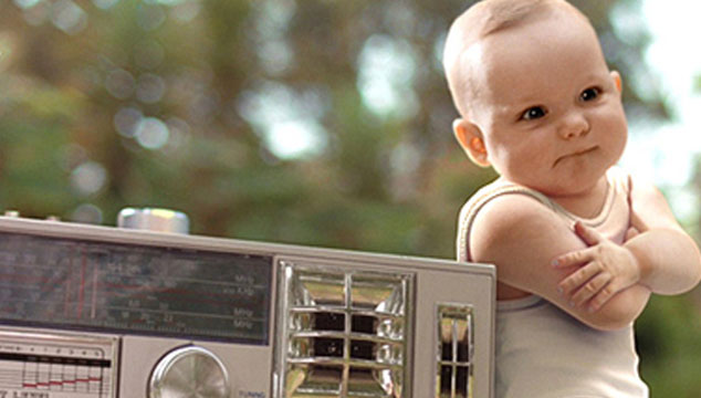 imagen La música y los bebés