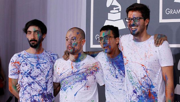 imagen La Vida Boheme nos muestra como va el proceso de grabación de su segundo álbum