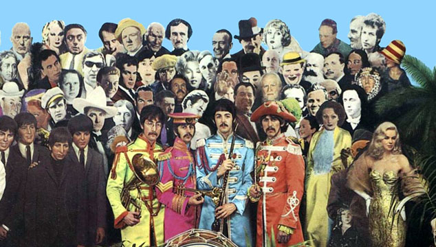 "imagen El collage original del ""Sgt Pepper's"" de The Beatles, a subasta en Londres"
