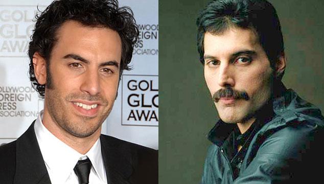 imagen Sacha Baron Cohen listo para interpretar a Freddie Mercury