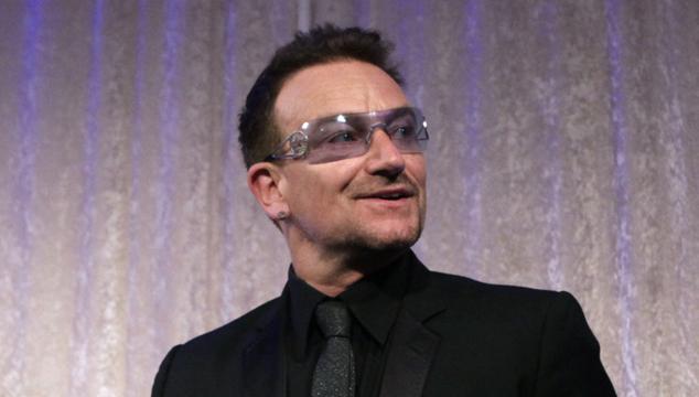 imagen Bono hace campaña contra la pobreza en Berlín
