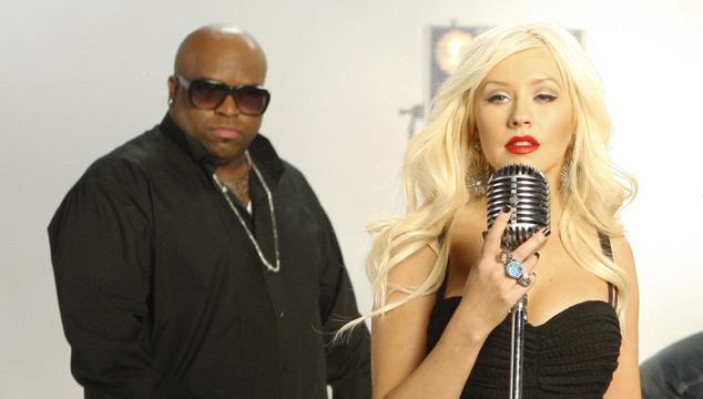 imagen ¡Cee-Lo Green y Christina Aguilera graban tema navideño!