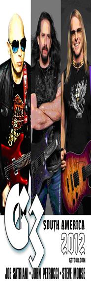 G3 (Guitarristas de Dream Theater, Deep Purple) en Caracas