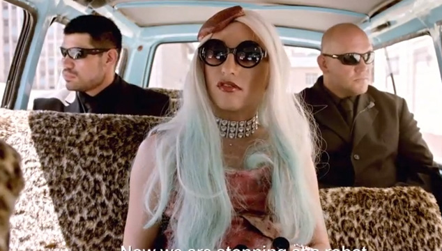 imagen Die Antwoord publica polémico video que involucra a Lady Gaga