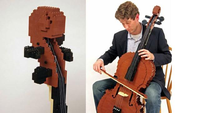 imagen Especial: ¡5 instrumentos construidos a partir de Legos que se pueden tocar!