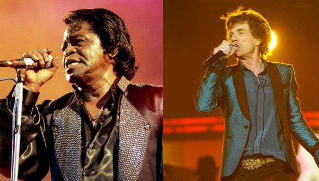 imagen Mick Jagger producirá película de la vida de James Brown