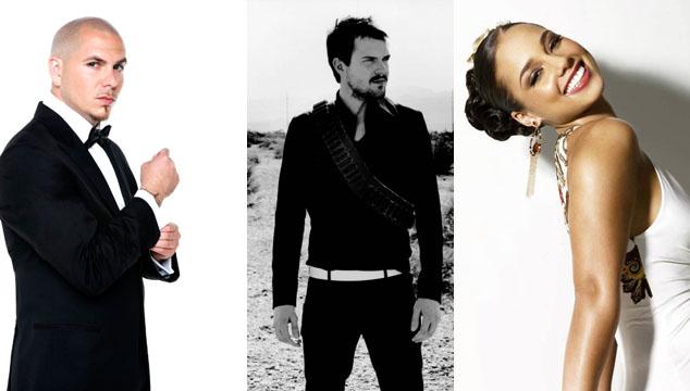 imagen The Killers, Alicia Keys y Pitbull compartirán escenario en los MTV Europeos