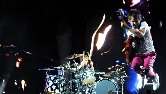 """imagen Muse promete """"extraterrestres, pirámides y kung fu"""" en su nueva gira"""