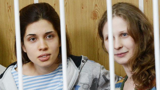 imagen Integrantes de Pussy Riot fueron enviadas a cárceles alejadas de Moscú