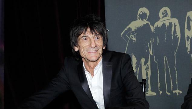 imagen Ron Wood, guitarrista de los Rolling Stones, se casa por tercera vez