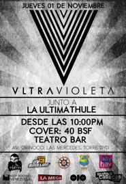 Vltravioleta y la Ultima Thule en Caracas