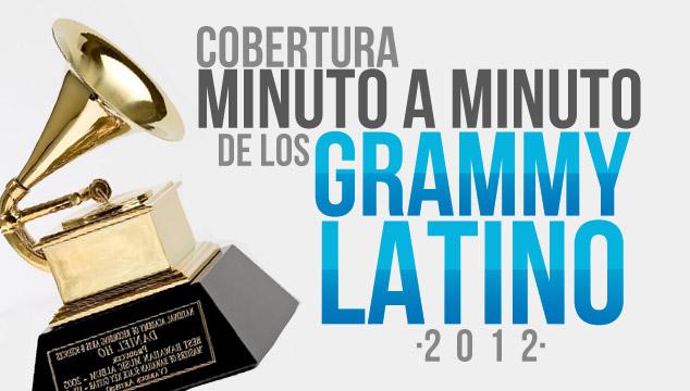 imagen ¡Los Grammy Latino 2012 Minuto a Minuto! (Actualizado)