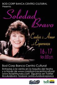 Soledad Bravo en Corp Banca