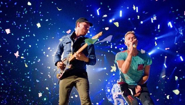 imagen Coldplay publica un adelanto de su película/concierto