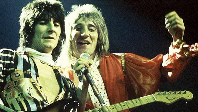 imagen Keith Richards y Rod Stewart serán los padrinos de la boda de Ronnie Wood