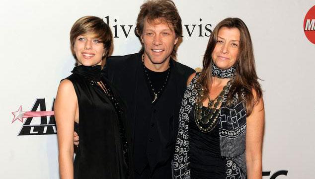 imagen La hija de Bon Jovi arrestada luego de una supuesta sobredosis